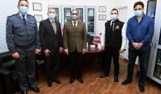 تسليم هبة من الأنتربول تُقدّر بـ100 ألف يورو لصالح مكتب المختبرات الجنائية