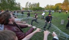 مواجهات واعتقال أشخاص عدة خلال احتجاجات ضد بناء كاتدرائية في روسيا