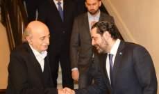 الأنباء: الحريري أقنع جنبلاط بترشيح غطاس خوري في الشوف على لائحة المستقبل والقوات