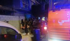 النشرة: نشوب حريق في مبنى بمنطقة برج أبي حيدر- بيروت نتيجة احتكاك كهربائي