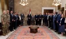 السفارة البريطانية: وفد دولي من 15 ضابطا من الكلية الملكية زار لبنان