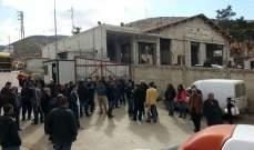 """""""النشرة"""": الجيش يعيد فتح طريق المصنع على الحدود اللبنانية- السورية"""