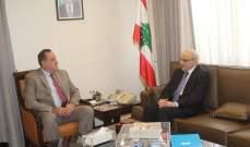 حب الله التقى الامين العام للمجلس الأعلى اللبناني السوري: لخفض رسوم الترانزيت