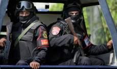 الأمن المصري يحبط هجوماً لانتحاري على نقطة تفتيش في العريش شمال سيناء