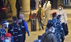 وصول طائرة من الغابون الى مطار بيروت وعلى متنها 130 لبنانيا