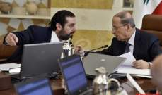 السياسة افشلت خطط عون والحريري