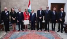 """الرئيس عون: لبنان بلد محب للسلام ولا يعارض الانضمام الى معاهدة """"اوتاوا"""" لحظر الالغام ضد الافراد"""