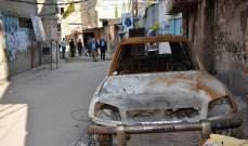 """""""النشرة"""" تكشف عن مسح الاضرار في مخيم المية ومية"""