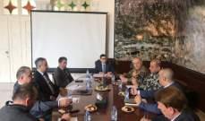 محافظ جبل لبنان: تأكيد الاستعداد لجبه أي خلل امني وترسيخ جو الاستقرار