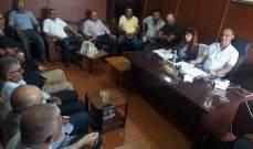 انتخاب حيدر شهلا رئيسا لبلدية سحمر في البقاع الغربي