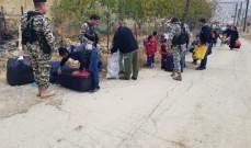 النشرة: تجمع نازحين سوريين في شبعا استعدادا للعودة الطوعية الى بلادهم