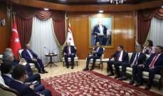 رئيس حكومة شمال قبرص بحث مع جاويش أوغلو بأنشطة التنقيب شرق المتوسط