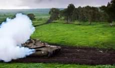 دبابتان للجيش الاسرائيلي اجتازتا السياج التقني في خراج العديسة