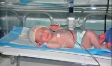 أول عملية في النبطية لمولود يعاني من تشوهات خلقية في المريء
