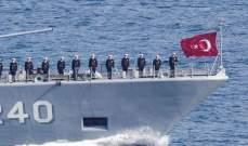 الدفاع التركية تعلن بدء مناورات مع قوات السلام بقبرص الشمالية في البحر المتوسط