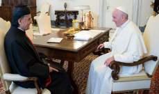 مصادر بكركي للجمهورية: البابا عبّر عن محبته للبنان