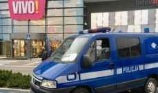 الشرطة البولندية: اصابة 8 اشخاص بعد هجوم شنه رجل مسلح في مركز تجاري