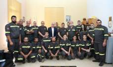 خطار زار مراكز الدفاع المدني بعكار: حق المتطوعين بالتثبيت محفوظ وننتظر التطبيق