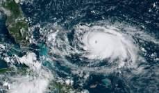 مركز الأعاصير الوطني الأميركي حذر من مسار العاصفة دوريان