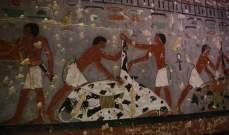 اكتشاف مقبرة تعود إلى حقبة الأسرة الخامسة جنوب القاهرة