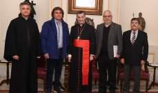 بسام جعجع التقى الراعي: ستنعقد ثلاثة مؤتمرات هذه السنة برعاية البطريرك