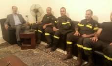 الموسوي التقى وفدا من الدفاع المدني ببعلبك- الهرمل: سندافع عن حقوقهم