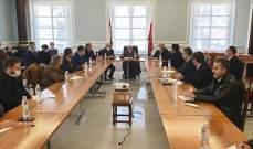 بهية الحريري التقت وفدين من متقاعدي اللبنانية واتحاد معلمي الأنروا