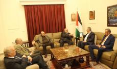 دبور التقى حمدان: لدعم صمود ونضال الشعب الفلسطيني وتطلعاته