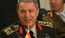 """أكار: منظومة """"إس-400"""" الروسية لا تشكل خطرا على من لا ينوي مهاجمة تركيا"""