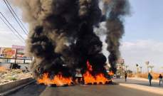 النشرة: الجيش ينفذ انتشارا كبيرا على الطريق الرئيسي عند مدخل صيدا