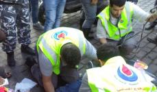 4 جرحى في انحراف سيارة واشتعالها في بلدة الخيام