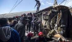 وزارة الصحة المصرية: تسجيل 97 إصابة في حادث قطار طوخ بمحافظة القليوبية