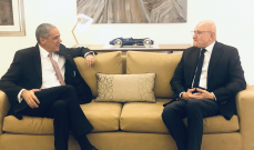سلام استقبل سفير الاتحاد الأوروبي في لبنان