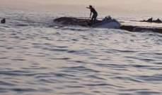 الدفاع المدني: انقاذ صياد من الغرق مقابل جزيرة صور
