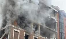 سقوط قتيلين وانهيار 3 طوابق من المبنى قرب دار للعجزة نتيجة انفجار مدريد