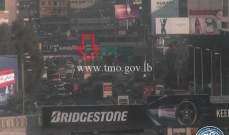 جريح نتيجة حادث صدم على اوتوستراد الدورة باتجاه الكرنتينا