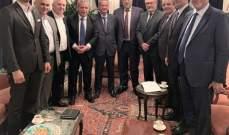 افرام: على لبنان بانتظار التصنيف الجديد البدء باستعادة الثقة بالنظام الاقتصاديّ– الماليّ