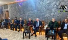إجتماع تنسيقي لمتقاعدي قوى الأمن بخربة داود للمطالبة بحقوقهم بالطبابة والإستشفاء