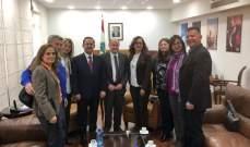 كيدانيان عرض مع نقابة الأدلاء السياحيين والاسمر الوضع السياحي في لبنان