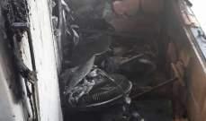 النشرة: اخماد حريق منزل في عبرا شرق صيدا وحريق آخر في صيدا