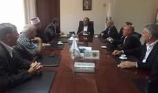 وزير البيئة التقى النائب آلان عون يرافقه وفد من بلدة كفرسلوان