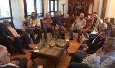 وفد من حزب الله زار بلدية حارة صيدا