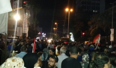 """النشرة: تقاطع """"ايليا"""" في صيدا يشهد المزيد من توافد المحتجين"""