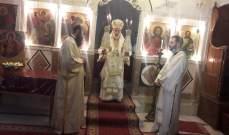 القداديس عمت مختلف الكنائس في منطقة حاصبيا بمناسبة الفصح