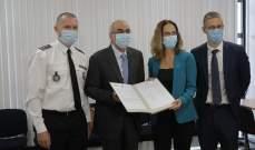 """توقيع مذكرة تعاون بين هيئة """" CBRN"""" والسفارة الفرنسية في لبنان"""