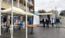 بلدية بلاط أجرت بالتعاون مع الـ LAU فحوص PCR لـ 35 شخصا لديهم شكوك باصابتهم