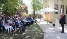 الرئيس عون: وجودي في بيت الدين لزيادة الطمأنينة واللحمة بين أهالي المنطقة