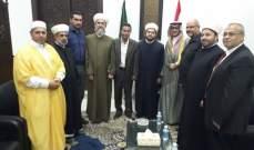 القائم بأعمال السفارة السعودية جال على فاعليات صور الروحية
