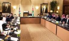 ملك الأردن: بلادنا لن تقبل بأي ضغط بسبب مواقفها من القضية الفلسطينية والقدس