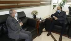 النائب حميّد بحث مع الوزير حسن في الإستعدادات لافتتاح مستشفى بيت ليف الحكومي
